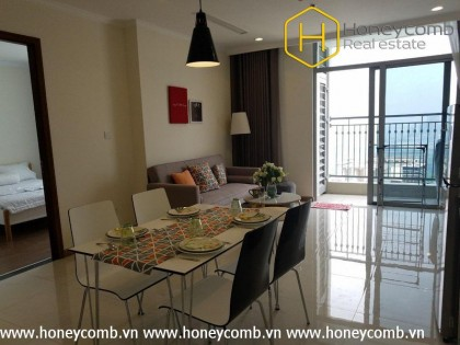 1 bedroom apartment airy in Vinhomes Central Park for rent