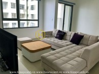 Simple but perfectly functional apartment in Masteri Thao Dien