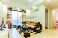 Wonderful 2-bedrooms apartment with city view in Masteri Thao Dien