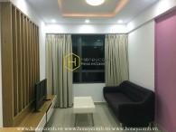 Căn hộ hai phòng ngủ cho thuê tại Masteri Thảo Điền ở tầng cao