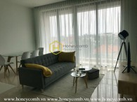 Enjoy a new wave of living in this dazzling apartment in Nassim Thao Dien