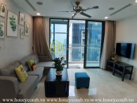 Move into this luxury apartment in Vinhomes Golden River and enjoy amazing perks in your daily life