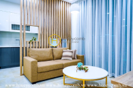You'll be lost for words when seeing this elegant apartment in Vinhomes Golden River