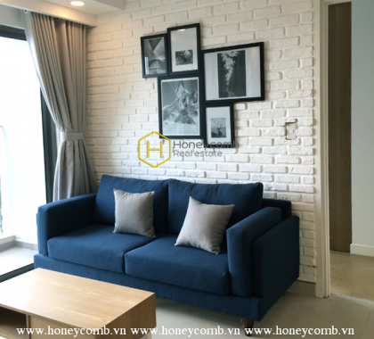 Masteri Thao Dien 2 bedrooms apartment with simple furnished