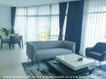 Delicate 2 bedrooms-apartment in City garden for rent