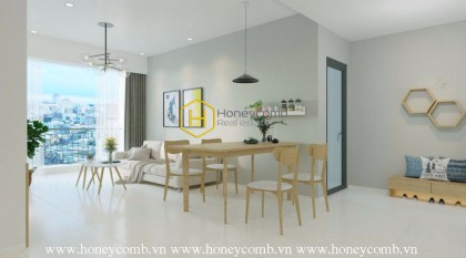 This apartment in Masteri An Phu has the beautiful design you deserve and lease rate you'll love