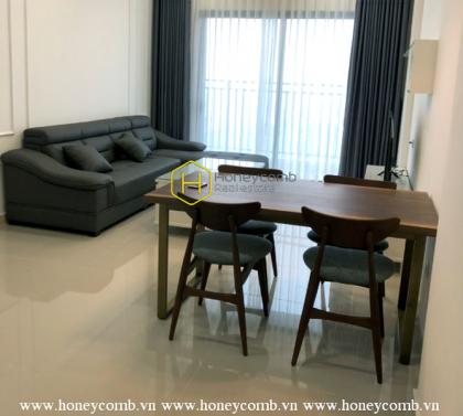 Modern design & Romantic city view apartment in The Sun Avenue