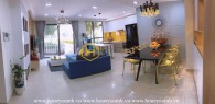 Duplex 3 bedrooms apartment with beautiful decorated in Masteri Thao Dien