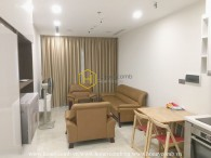 Simple design but qualified apartment in Vinhomes Golden River