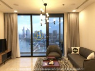 Enjoy the Saigon view in every moment at this Vinhomes Golden River