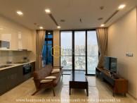 A sophisticated dark design in Vinhomes Golden River apartment