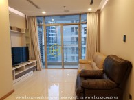 A charismatic apartment for rent in Vinhomes Central Park