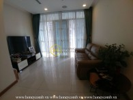 Fully furnised apartment with lovely balcony for rent in Vinhomes Central Park