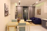 Căn hộ 2 phòng ngủ tinh tế tại Vinhomes Central Park cho thuê