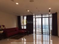 Căn hộ 3 giường với thiết kế rộng rãi và ưa nhìn cho thuê tại Vinhomes Central Park