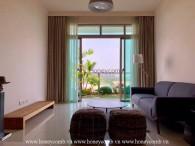 Căn hộ 2 phòng ngủ nội thất đẹp ở The Vista cho thuê