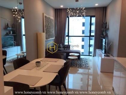 Căn hộ 2 phòng ngủ thiết kế cao cấp tại The Ascent Thảo Điền cho thuê