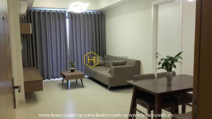 Graceful 2 beds apartment with full feature in Masteri Thao Dien for rent