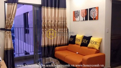 Good furnished with nice view 2 beds apartment in Masteri Thao Dien