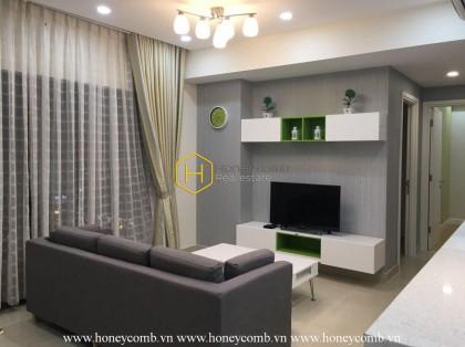 Good balcony 2 bedrooms apartment in Masteri Thao Dien