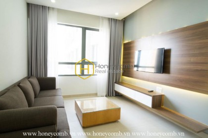 A stylish apartment is now for rent in Masteri Thao Dien