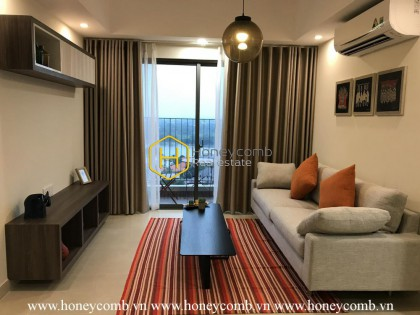 A gorgeous view in Masteri Thao Dien apartment will catch your eyes