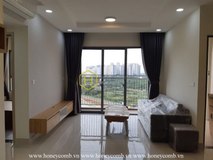 A modern apartment for rent with basic wooden interior  in Palm Height