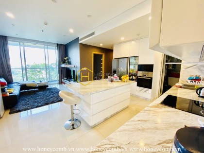 Get the chilled vibes through this exciting and palatial apartment in Sala Sarimi