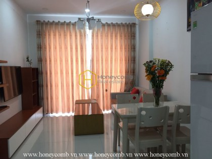 2 bedrooms apartment with the luxury furniture in Tropic Garden