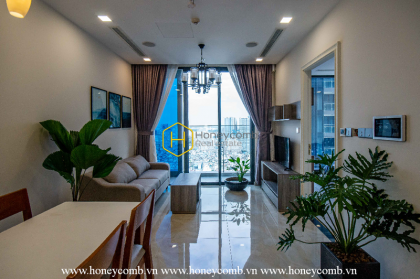 Head over the heel with the terrific layout in this Vinhomes Golden River apartment