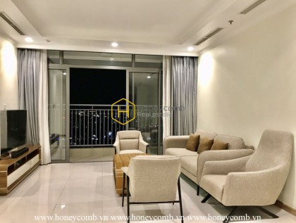 A superior full-furrnished apartment for rent in Vinhomes Central Park