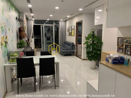 This Vinhomes Central apartment is an ideal place for your household