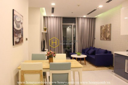 Exquisite 2-bedroom apartment in Vinhomes Central Park for rent