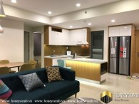 Masteri apartment for rent 3 bedroom, Western-style furniture