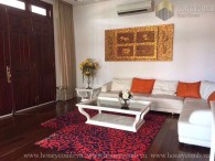 Villa Thao Dien 4 beds apartment full furnished for rent