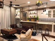 3 bedrooms with deluxe furniture, exquisite for rent at Vinhome Central Park