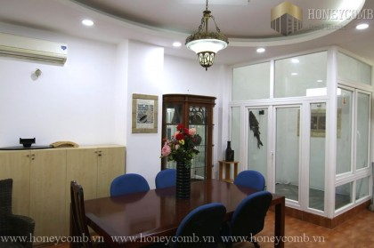Villa 4 beds apartment in Thao Dien for rent
