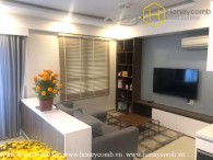 Duplex 3 bedrooms apartment with modern style in Masteri Thao Dien