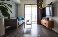 Căn hộ 1 phòng ngủ xinh xắn, đầy đủ nội thất, view thành phố đẹp cho thuê tại Gateway Thảo Điền