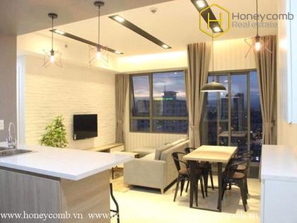 Luxury design 2 beds apartment in Masteri Thao Dien