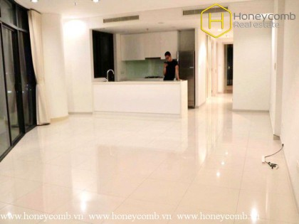 Unfurnished 1 bedroom apartment with nice view in City Garden