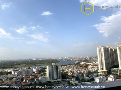 Unfurnished 3 bedroom apartment in The Estella Height for rent