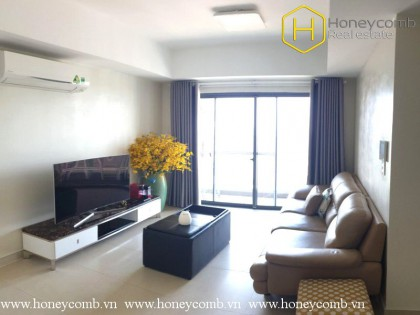 Sophisticated Style 3 beds apartment with high floor in Masteri Thao Dien