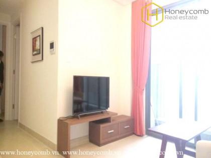 Simple 2 bedroom apartment with high floor in Masteri Thao Dien