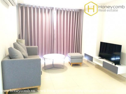 Beautiful floral decorated 2 bedroom apartment in Masteri Thao Dien