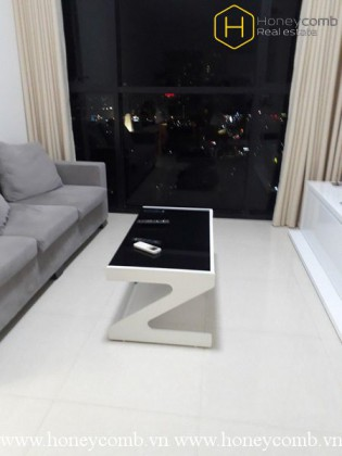 Fully furnished with 2 bedrooms apartment in The Ascent Thao Dien for rent