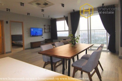 Spacious and fully furnished 2-bedroom apartment in Tropic Garden for rent