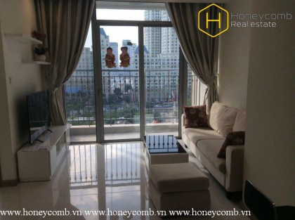 Fully furnished and convenient with 2 bedrooms apartment in Vinhomes Central Park