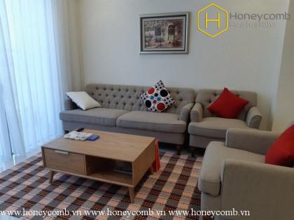 Polite 2-bedroom apartment for rent in Vinhomes Central Park