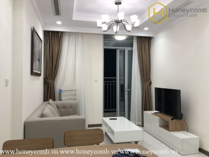 Youthful with 1 bedroom apartment in Vinhomes Central Park